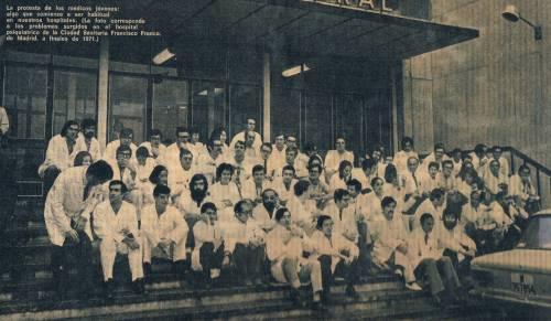 Huelga Médicos 1971 - H[1]-1. La Paz