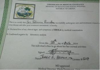 Certificado de Paciencia