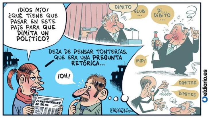 viñeta publicada en El Diario el 6 de noviembre